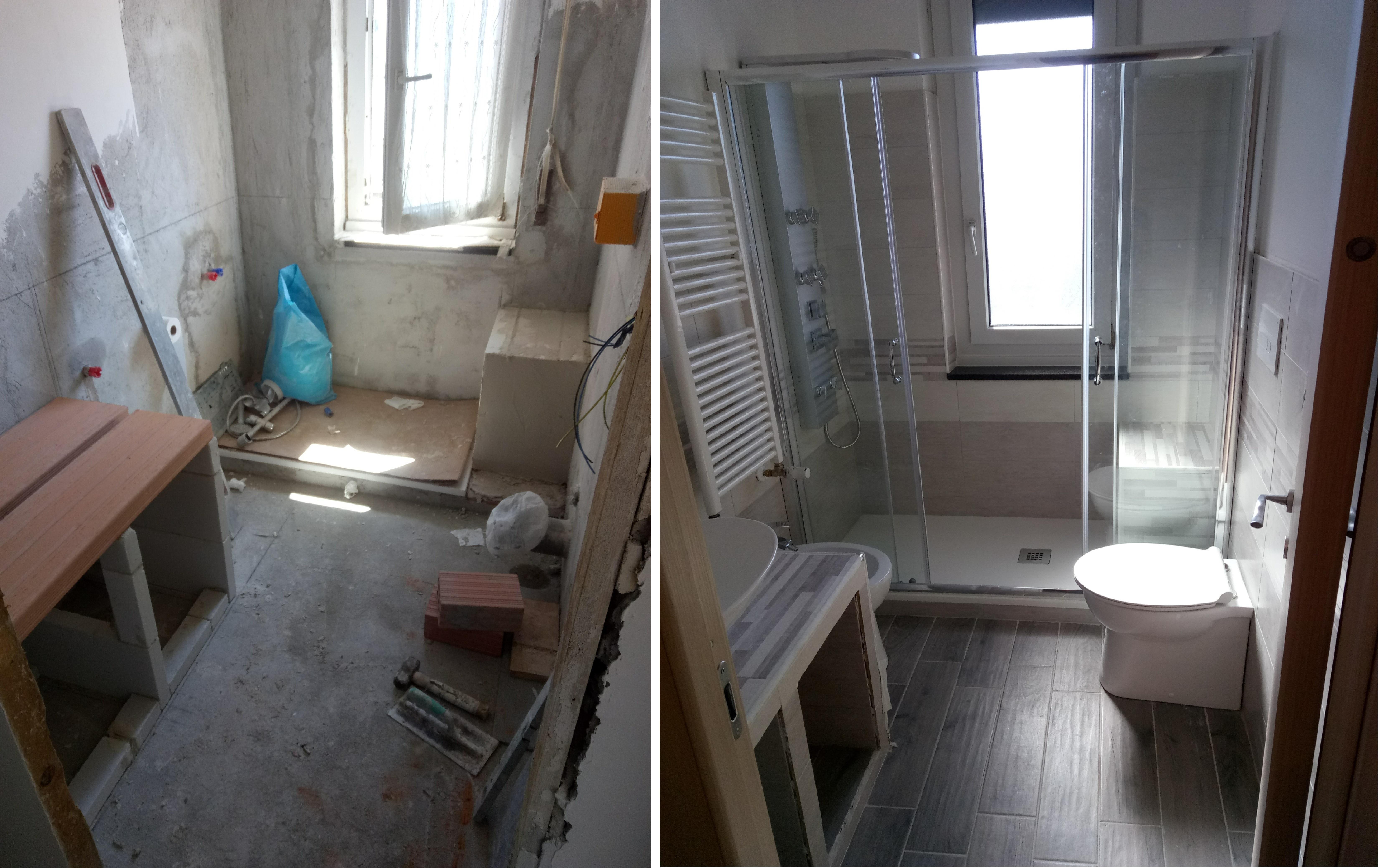 Gallery soluzioni edili srls - Rifacimento bagno manutenzione ordinaria ...